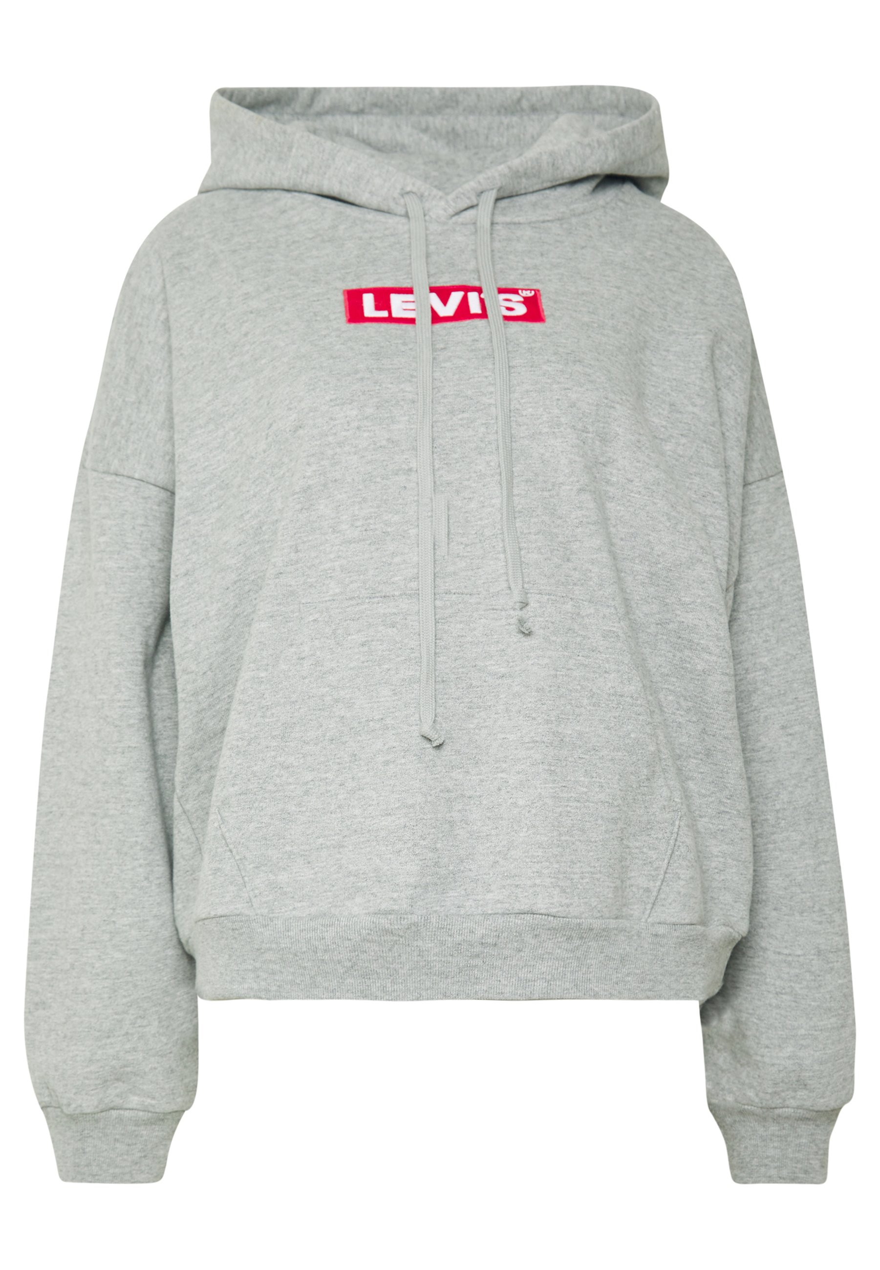 GRAPHIC HOODIE Bluza z kapturem mottled light grey
