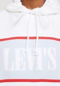 Levi's® - CAMERON HOODIE - Sweat à capuche - white baby blue - 5