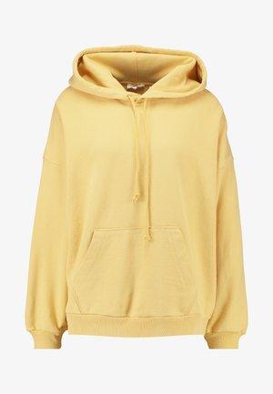 HOODIE - Hoodie - ultra soft ochre garment dye