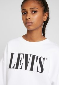 Levi's® - GRAPHIC DIANA CREW - Sweatshirt - white - 4