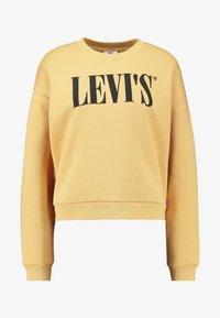 Levi's® - GRAPHIC DIANA CREW - Felpa - ochre - 5