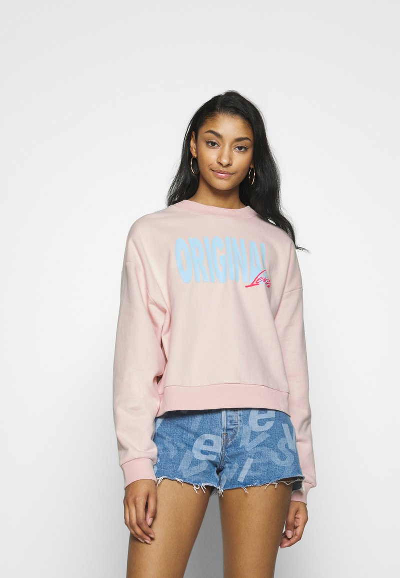 Levi's® - GRAPHIC DIANA CREW - Sweatshirt - crew original peach blush
