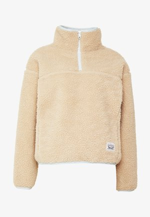 SLOANE SHERPA - Fleece jumper - oyster gray