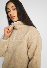 Levi's® - SLOANE SHERPA - Fleece jumper - oyster gray - 4
