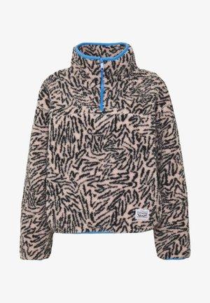 SLOANE SHERPA - Fleece jumper - light pink/black