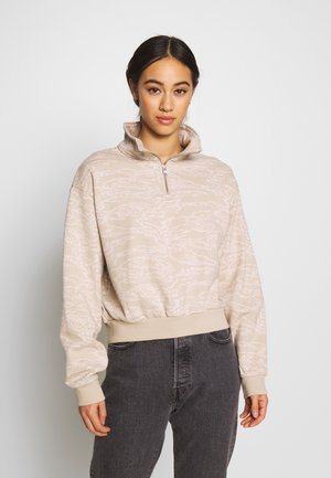 LOGO  - Sweater - taupe
