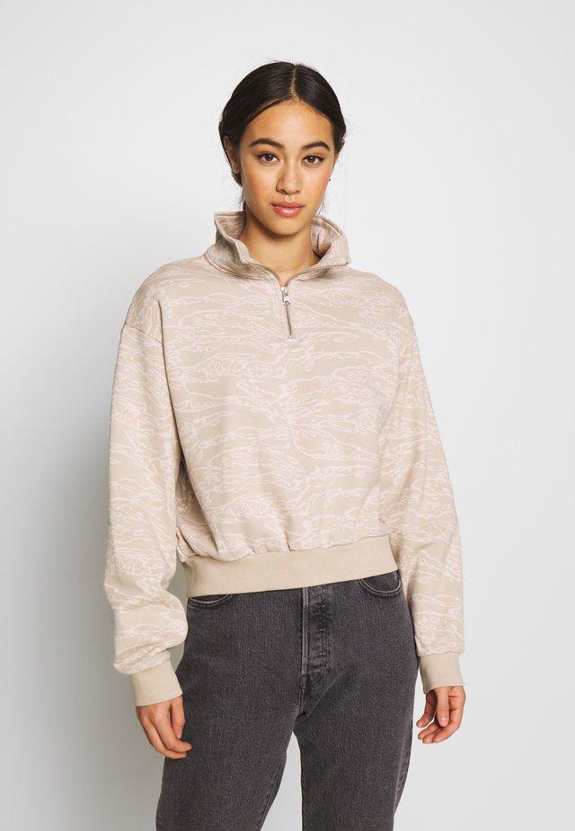 LOGO  - Sweater - taupe