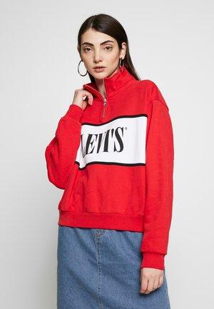 LOGO - Sweatshirts - brilliant red
