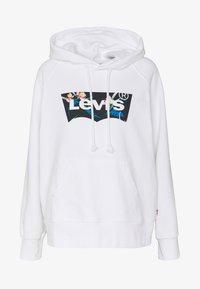 Levi's® - GRAPHIC SPORT HOODIE - Jersey con capucha - white - 4