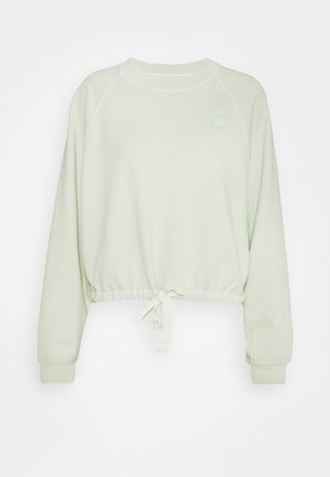 CINCHED CREW - Collegepaita - light green