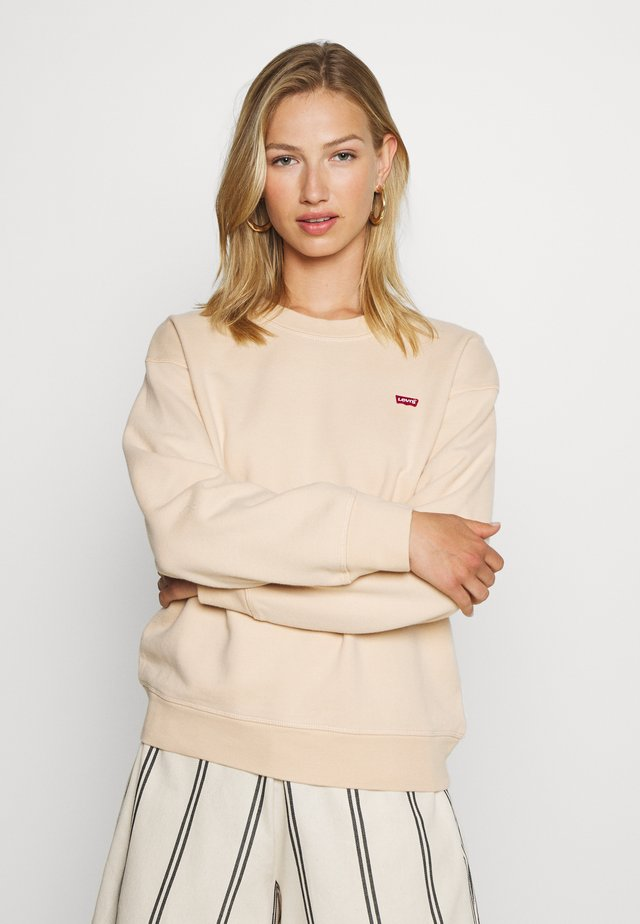 STANDARD CREW - Sweater - toasted almond