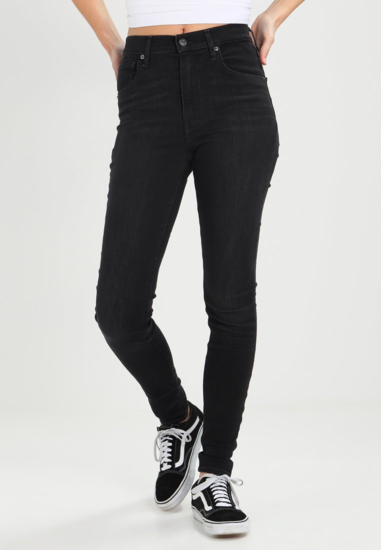 Levi's® - MILE HIGH SUPER SKINNY - Jeans Skinny Fit - faded ink