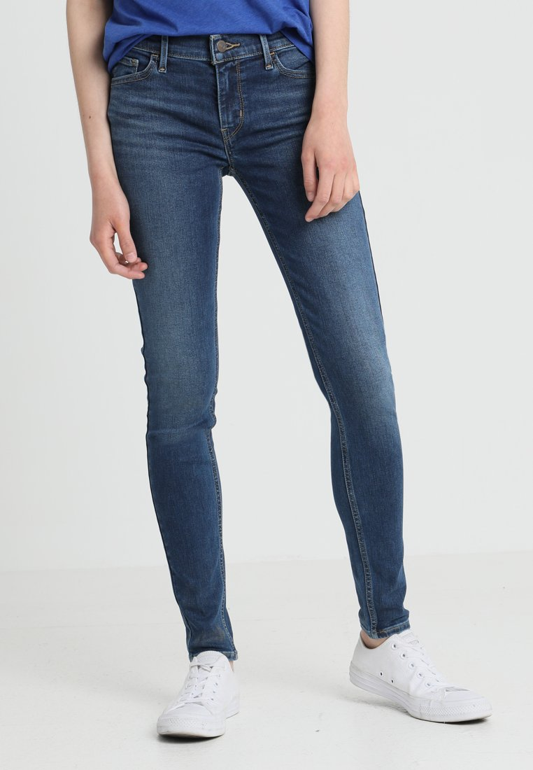Levi's® - 710 SUPER SKINNY - Jeans Skinny Fit - prestige indigo