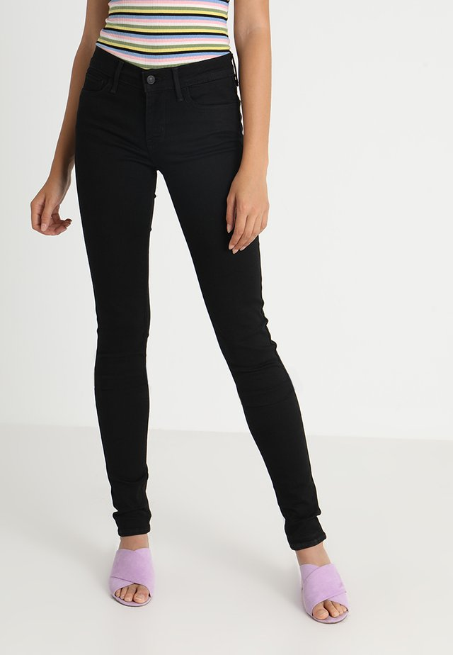 710 SUPER SKINNY - Jeans Skinny Fit - black galaxy