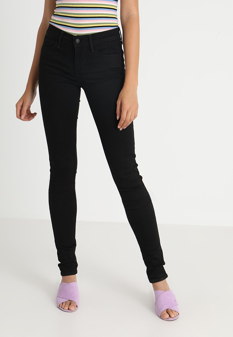 Levi's® - 710 SUPER SKINNY - Jeans Skinny Fit - black galaxy