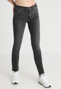 Levi's® - 711 SKINNY - Skinny džíny - boombox t2 - 0