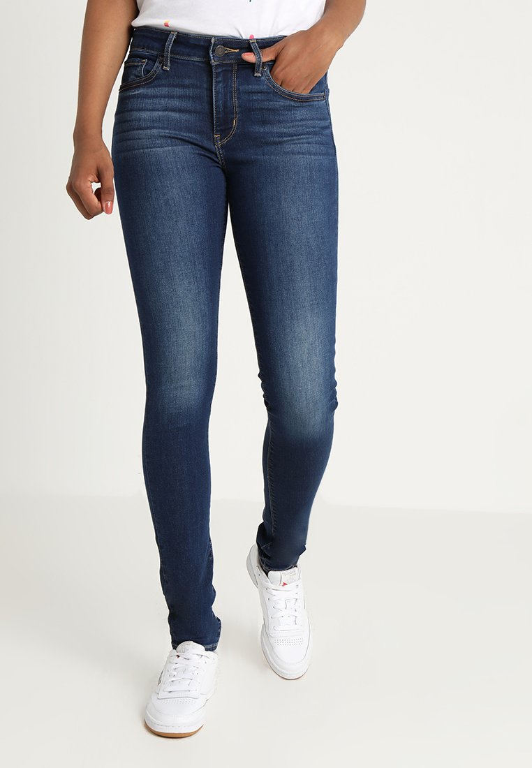 Levi's® - 711 SKINNY - Jeans Skinny Fit - dark blue denim