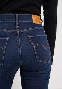 Levi's® - 724 HIGH RISE STRAIGHT - Straight leg -farkut - dark-blue denim - 5