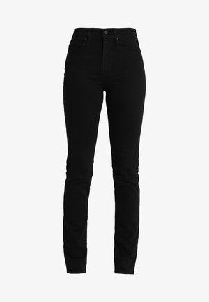 724 HIGH RISE STRAIGHT - Jeans straight leg - black sheep