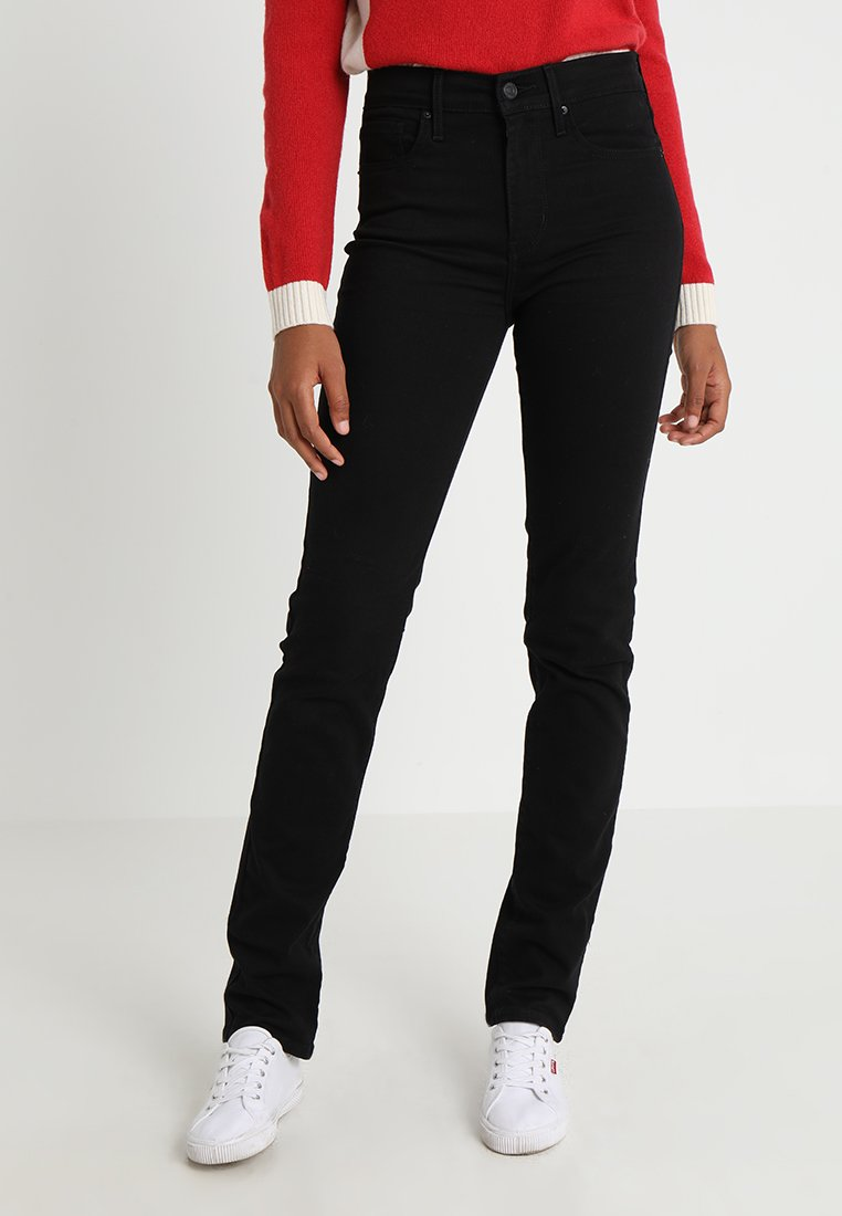 Levi's® - 724 HIGH RISE STRAIGHT - Straight leg jeans - black sheep