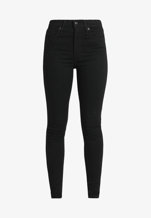 MILE HIGH SUPER SKINNY - Jeans Skinny - black galaxy