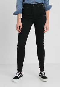 Levi's® - MILE HIGH SUPER SKINNY - Jeans Skinny Fit - black galaxy - 0
