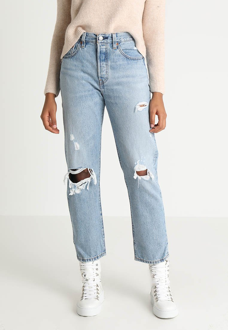 Levi's® - 501 CROP - Straight leg jeans - authentically yours