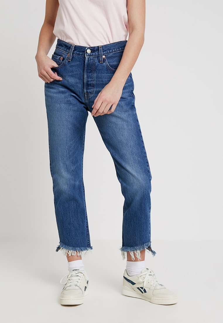 Levi's® - 501 CROP - Jeans Skinny Fit - chill out