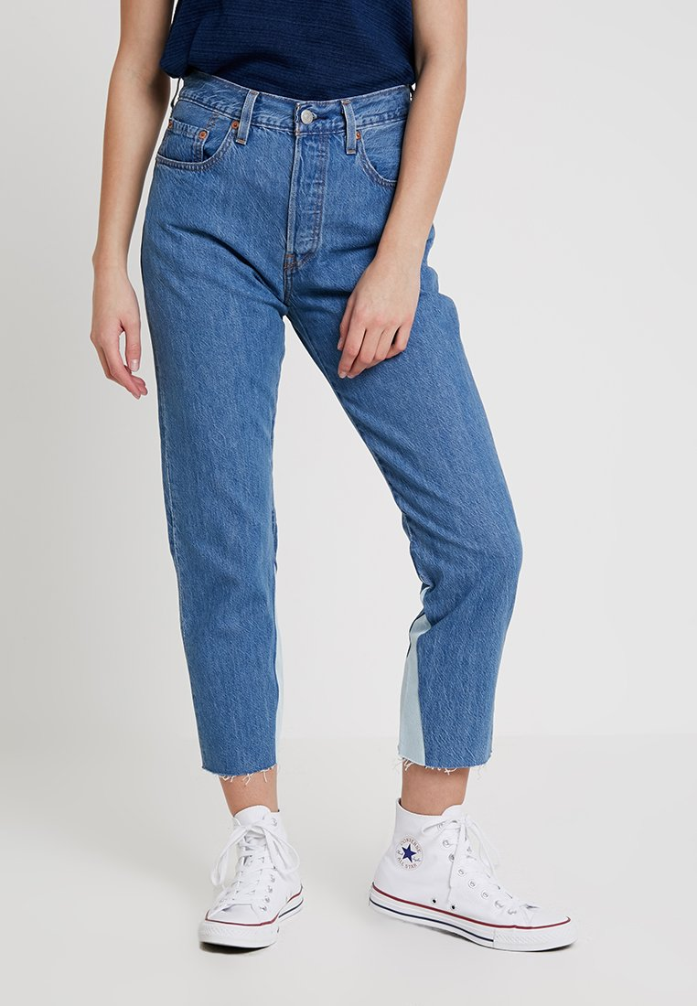 Levi's® - 501 CROP - Jeans Tapered Fit - everlasting symmetry
