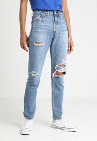 Levi's® - 501® SKINNY - Jeans Skinny Fit - blue denim - 0