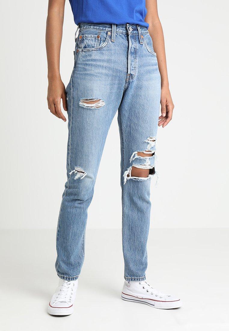 Levi's® - 501® SKINNY - Jeans Skinny Fit - blue denim