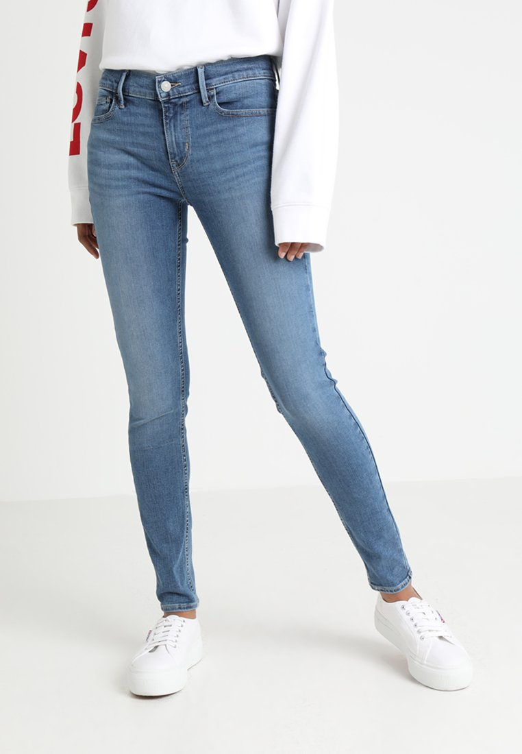 Levi's® - INNOVATION SUPER SKINNY - Jeans Skinny Fit - word