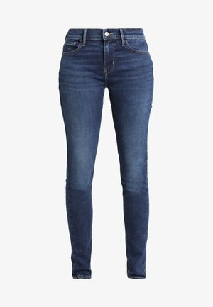 INNOVATION SUPER SKINNY - Jeans Skinny Fit - dark-blue denim