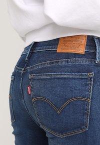 Levi's® - INNOVATION SUPER SKINNY - Skinny džíny - dark-blue denim - 6
