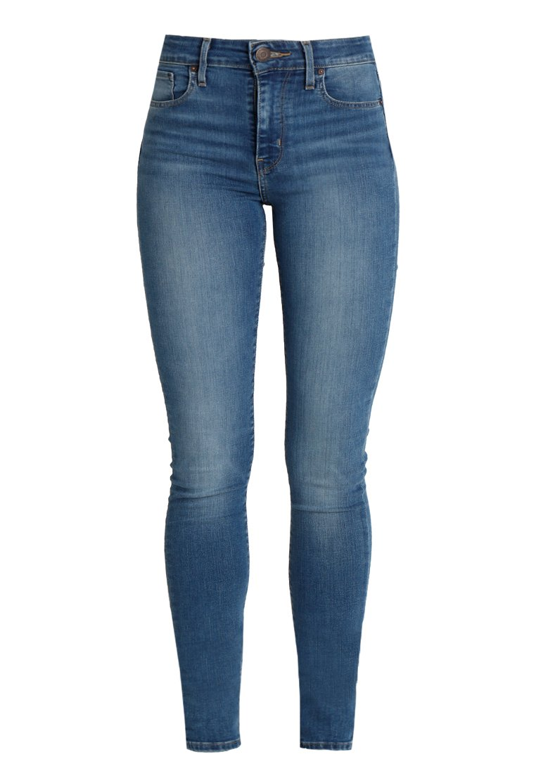 Levi's® 721™ HIGH RISE SKINNY - Jeansy Skinny Fit - rinsed denim