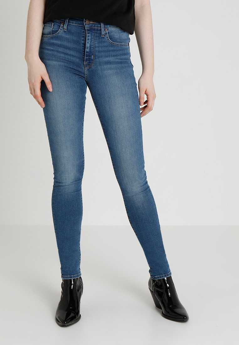 Levi's® - 721™ HIGH RISE SKINNY - Jeansy Skinny Fit - dust in the wind