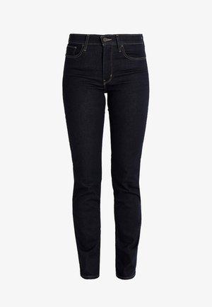 Slim fit jeans - dark-blue denim, rinsed denim