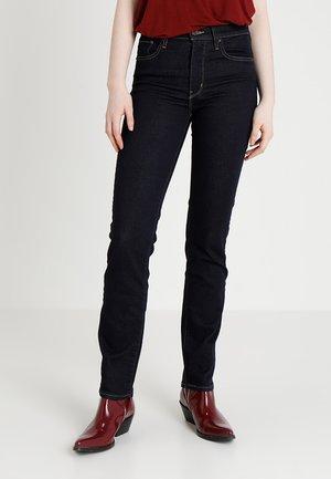 Jean slim - dark-blue denim, rinsed denim