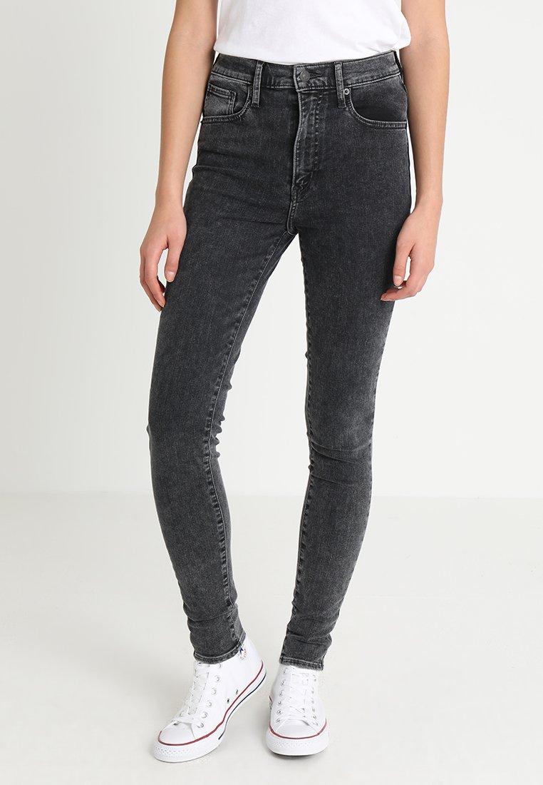 Levi's® - MILE HIGH SUPER SKINNY - Jeans Skinny Fit - grey denim
