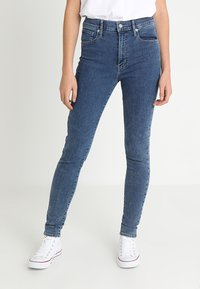 Levi's® - MILE HIGH SUPER SKINNY - Jeans Skinny Fit - blue denim - 0