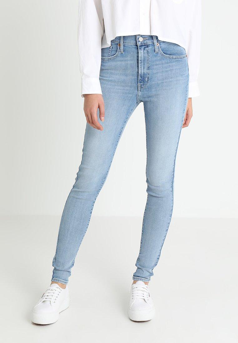 Levi's® - MILE HIGH SUPER SKINNY - Jeans Skinny Fit - light-blue denim