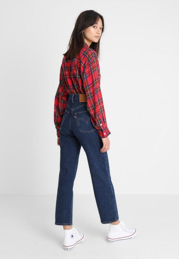 Levi's® RIBCAGE STRAIGHT ANKLE - Jeansy Straight Leg - blue denim