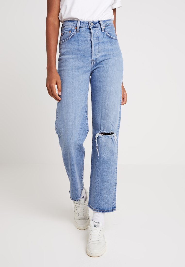Levi's® - RIBCAGE - Straight leg jeans - haters gonna hate