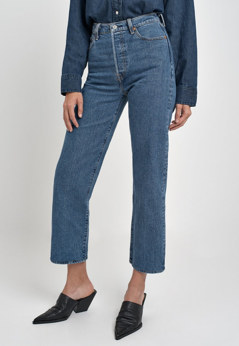 Levi's® - RIBCAGE STRAIGHT ANKLE - Jeans a sigaretta - georgie
