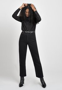 Levi's® - RIBCAGE STRAIGHT ANKLE - Straight leg jeans - black heart - 2