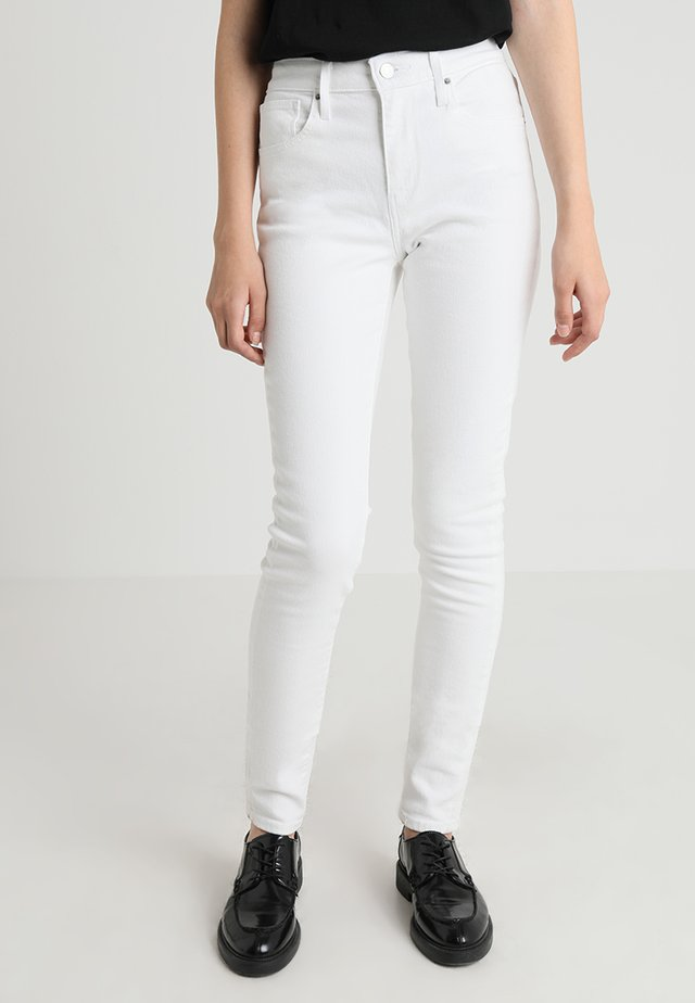 721™ HIGH RISE SKINNY - Jeans Skinny Fit - western white