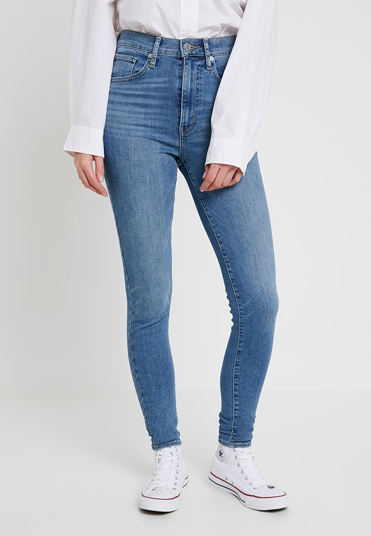 Levi's® - MILE HIGH SUPER SKINNY - Jeans Skinny Fit - business as usual