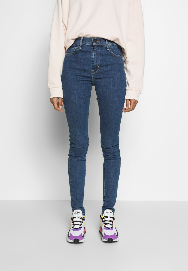 Levi's® - 720 HIRISE SUPER SKINNY - Jeans Skinny Fit - tempo stone