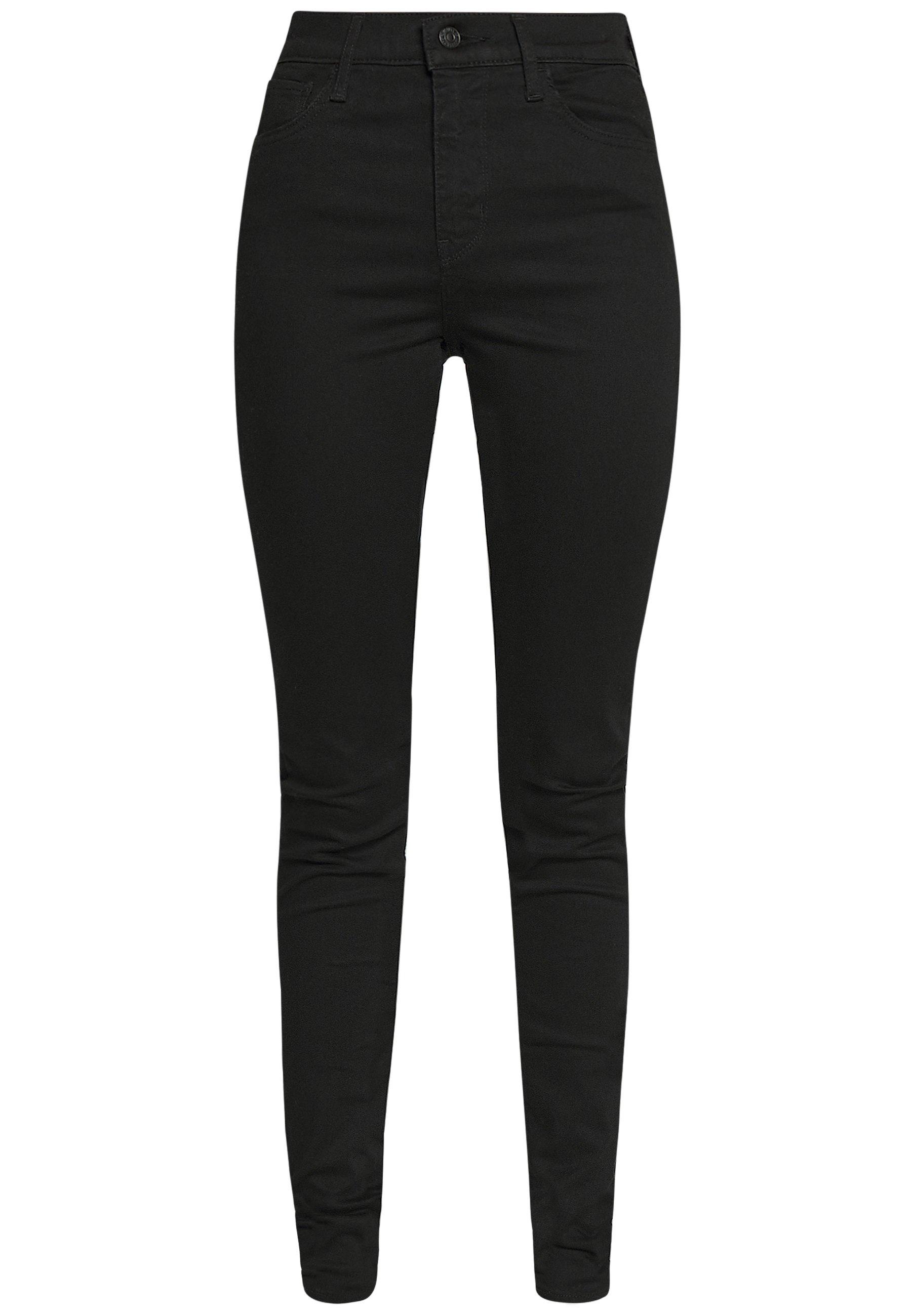 Levi's® 720 HIRISE SUPER SKINNY - Jeans Skinny Fit - black galaxy