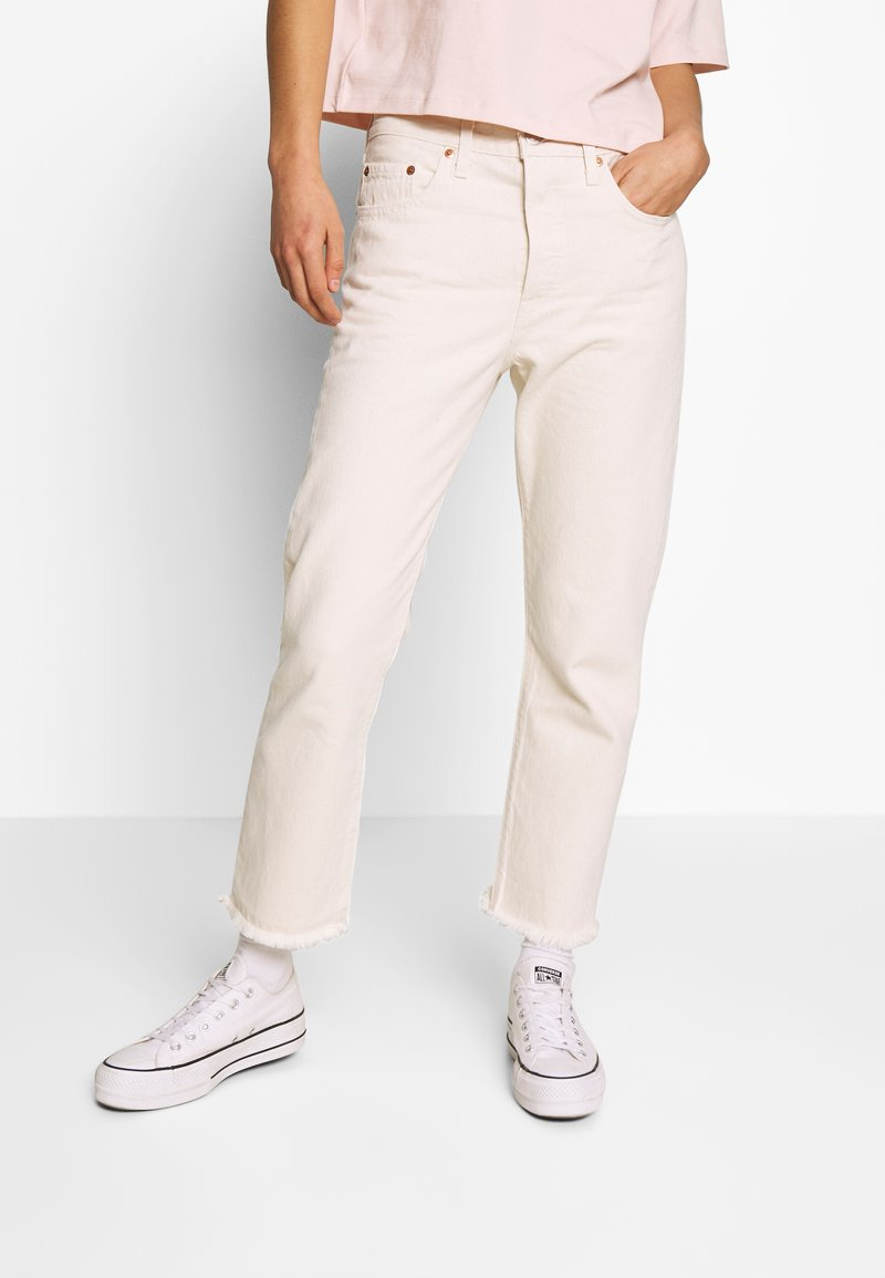 Levi's® - 501® CROP - Jeans straight leg - neutral ground